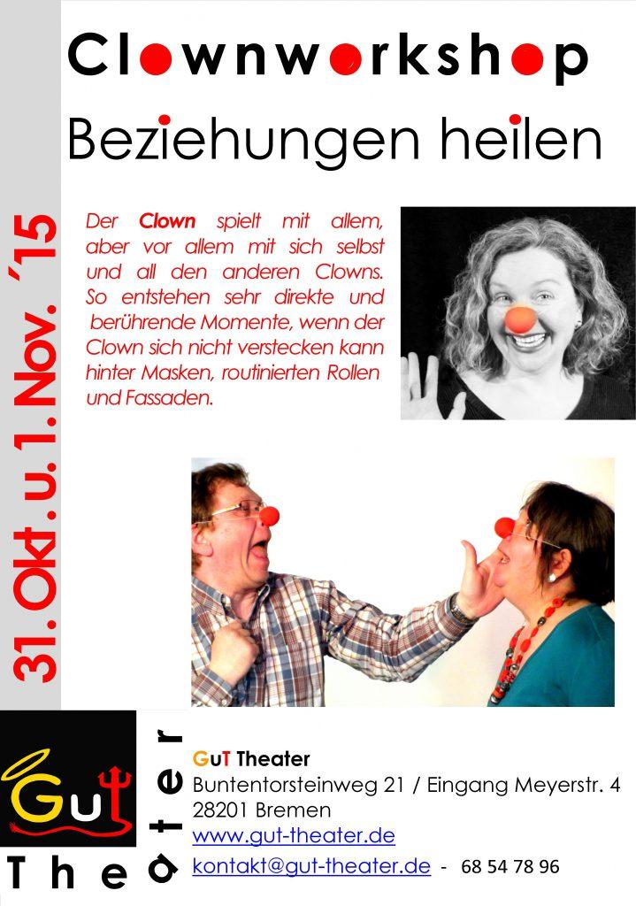 Clownworkshop Beziehungen heilen A1 Okt 15